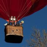 Le matériel pour la photo en montgolfière