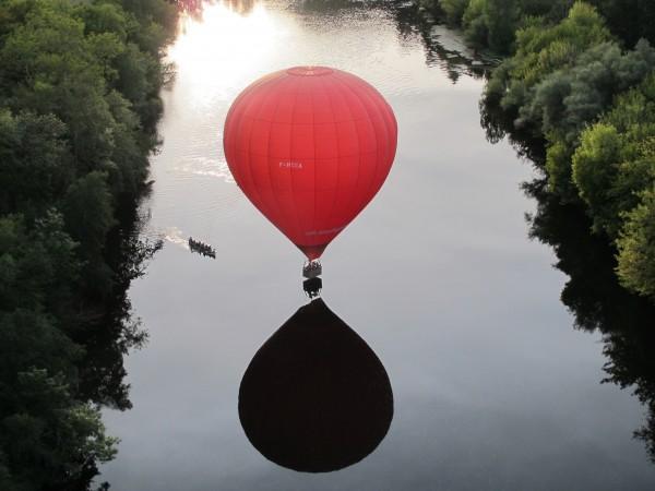 bateau et ballon
